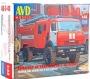AVD1268 - пожарная автоцистерна АЦ-3-40 (КАМАЗ- 43502)  (1:43)