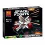 10359 BELA Космические воины  летающий аппарат+фигурка 92 дет.