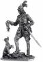 127 Германский кавалерист с собакой, 16в