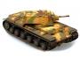 36275   Танк  КВ-1 1941 г. трехцветный камуфляж (1:72)