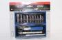 4012 JAS Набор ножей с цанговым зажимом (алюминий), 17 предметов
