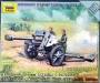 6121 Звезда 1/72 Немецкая 105-мм гаубица с расчетом
