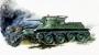 6129 Звезда 1/100 Советский легкий танк БТ-5