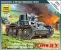 6130 Звезда 1/100 Немецкий легкий танк PZ-38 (T)