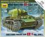 6141 Звезда 1/100 Советский тяжёлый танк КВ-1 образца 1940 г.