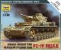 6151 Звезда 1/100 Немецкий танк Pz-IVD