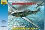 """Звезда 4806 1:48 """"Немецкий истребитель Мессершмитт Bf-109F4 """""""