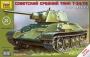 Звезда 5001 1:72 Танк Т-34/76 образца 1943 года