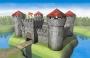 Звезда постройки 1/72 8510 Средневековая каменная крепость