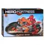 Конструктор HERO FORTRESS 9907 Огненный гонщик